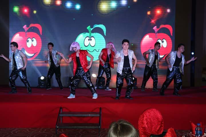 工程部 技质部 舞蹈 【小苹果】